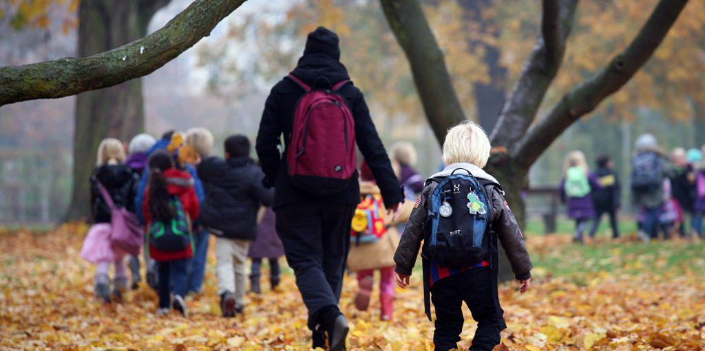 Læreplanstemaer, pædagogisk dag